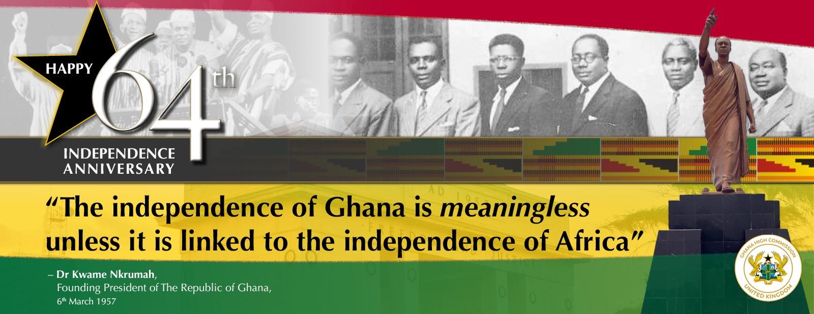 Ghana at  64